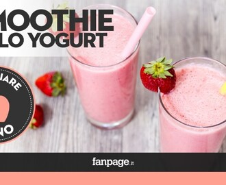 Come preparare uno smoothie allo yogurt in casa