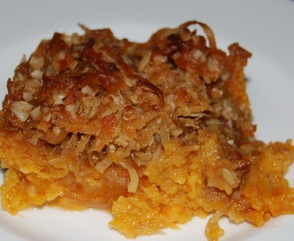 Sweet Potatoes with Candied Topping