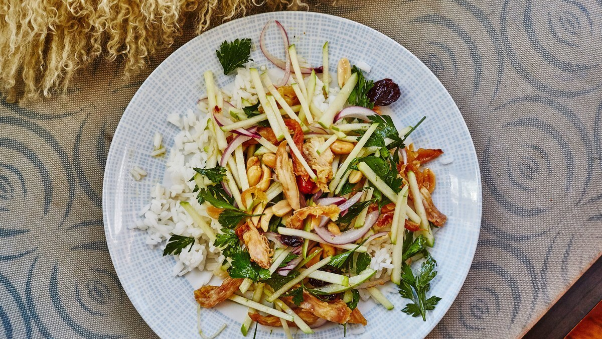Crispy Thai Chicken Salad