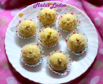 Malai ladoo or paneer ladoo recipe – diwali sweet recipe