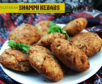 Meatless Monday- Vegetarian Shammi Kebabs