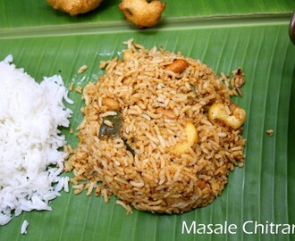 Udupi Style Masala Chitranna | How to make Masala Chitranna
