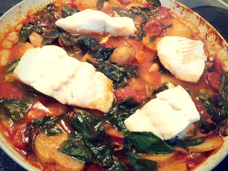 Cod and Chorizo Stew