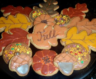 Fall Sugar Cookies!