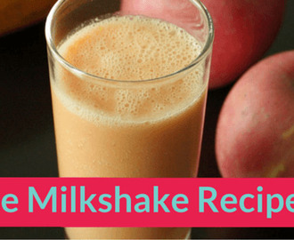 Apple Milkshake Recipe for Kids