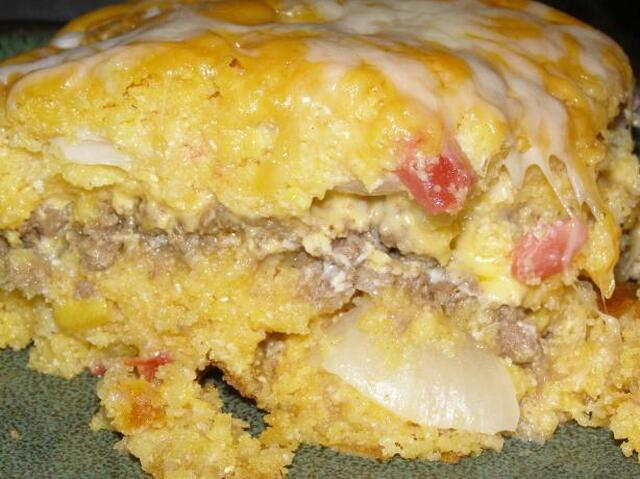 Mexican Stuffed Cornbread