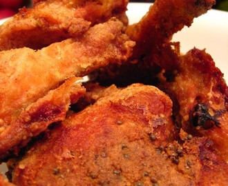 Fried chicken, but baked
