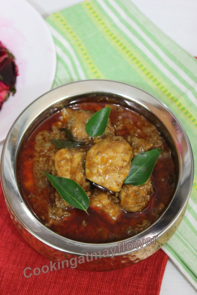Mangalorean Chicken Curry with Coconut/Kori Gassi