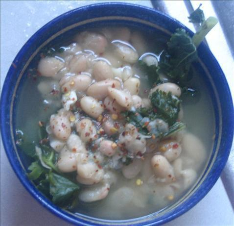 Italian White Bean Soup With Greens (Sbd)