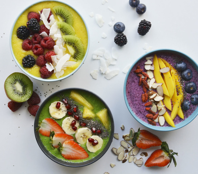 Smoothie bowls: 3 favoritter