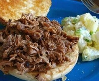 Sweet and Savory Slow Cooker Pulled Pork