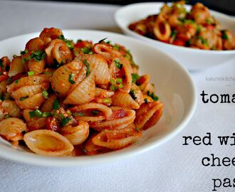 Red Wine and Tomato Cheesy Pasta