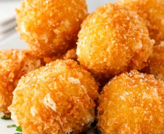 Fried Risotto Balls [Vegan, Gluten-Free]