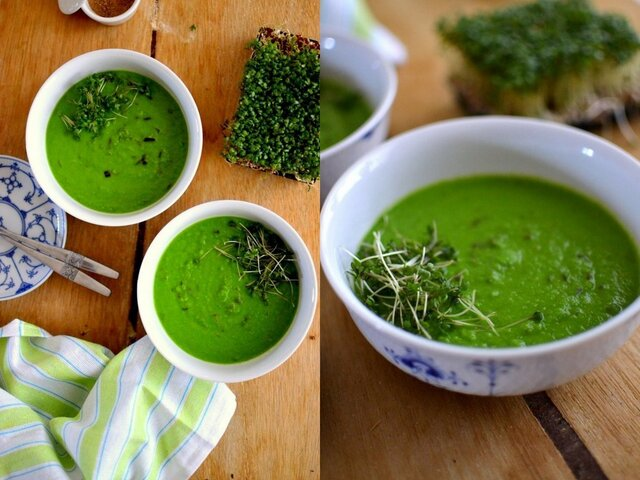 Give Peas A Chance: Matar Ka Shorba (Indian Green Peas Soup)