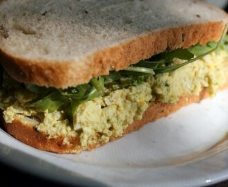 Curry Egg Salad Sandwich Recipe {TWC}