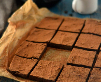 Brownies de Batata Doce