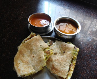 VEGETABLE UTHAPPAM [ SOUTH INDIAN Break fast ]