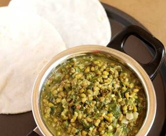 Drumstick Leaves Curry | Chapati Side Dish