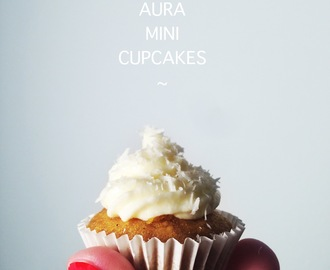 autumn aura. { gluten-free spiced pumpkin-carrot cupcakes with vanilla cream cheese frosting }