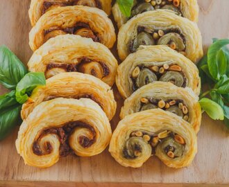 Savory Palmiers Two Ways [Vegan]