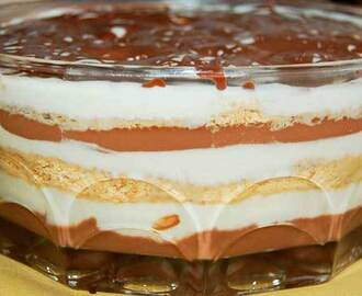 Mousse de Chocolate Com Natas