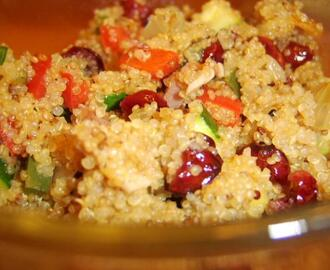 Quinoa With Ham and Cranberries