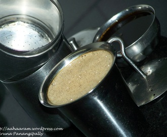 South Indian Filter Coffee or Kaapi