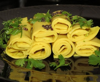 Khandavi – A Delicious and Healthy Snack from Gujarat