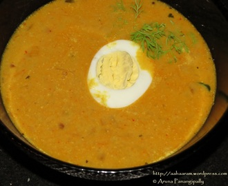 Egg Curry with Coconut Milk