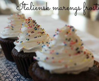 Italiensk marengs frosting/ Italian Meringue Buttercream