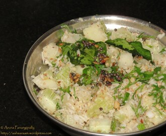 Khamang Kakdi – Cucumber Salad with Peanuts, Coconut and a Hint of Lemon Juice – Summer Special from Maharashtra