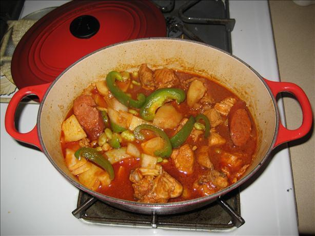 Chicken and Pork Apritada