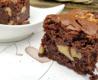 Smeuïge en Knapperige Brownies