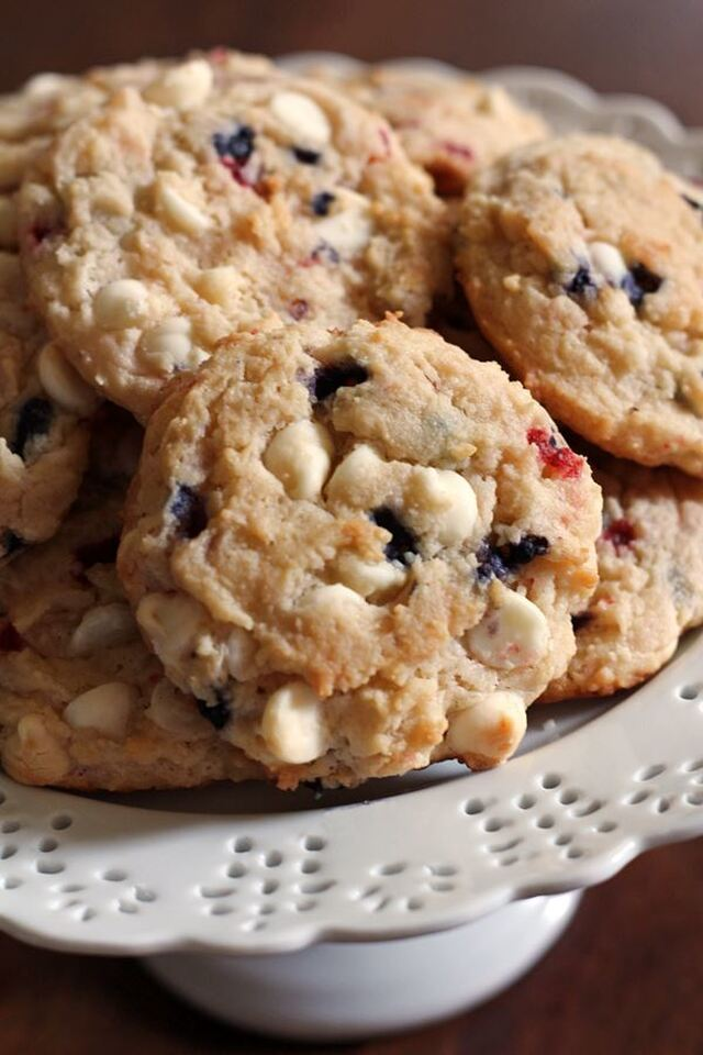 Berry Cheesecake Cookies (From a Muffin Mix)