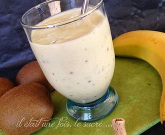 Milkshake Banane, Kiwi made in Thermomix ...