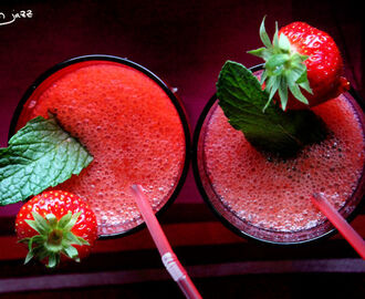 Organic Virgin Strawberry Daiquiri