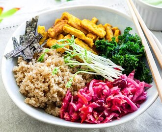 Indonesian Macro Bowl [Vegan, Gluten-Free]