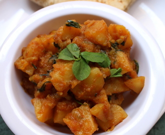 Aloo Sabzi Recipe For Chapati, How To Make Aloo Ki Sabzi