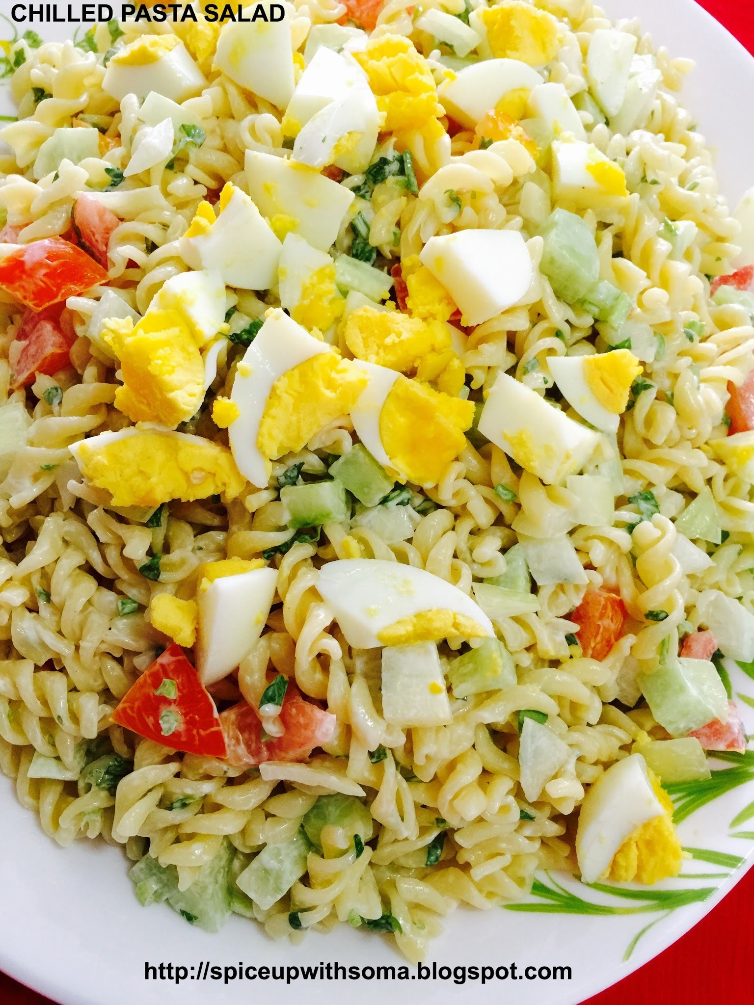 CHILLED PASTA SALAD