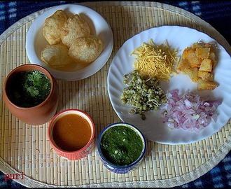 PANI PURI/GOLGAPPA/CHAAT RECIPES