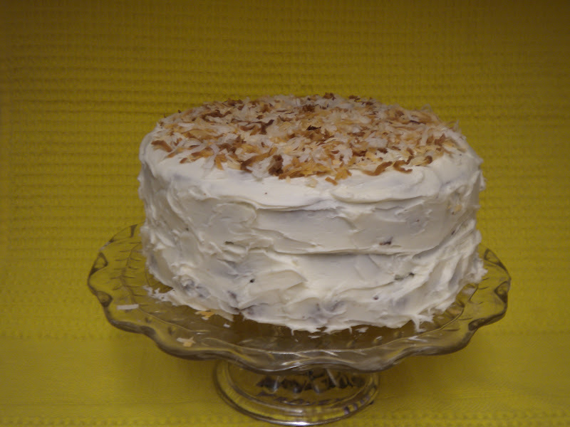 Coconut Cake-Biltmore (Asheville, North Carolina)
