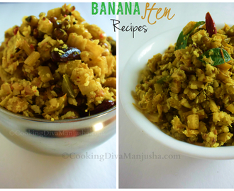 Two ways to make a Banana stem recipe -Vazha Pindi thoran|Vazhaithandu poriyal