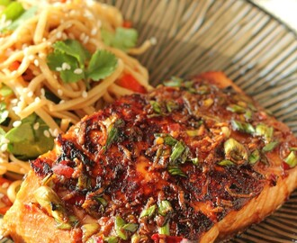 Sheila's Salmon in Soy Sauce