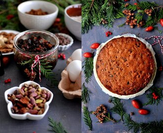 Making the Perfect Christmas Cake Part 2: Baking the Cake