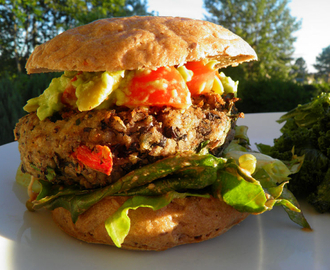 Blackbean Rice Burger