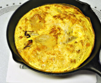 Potato and Cheddar Frittata - Joy of Kosher