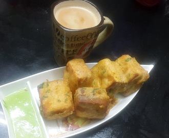 BREAD CHEESE PAKODE