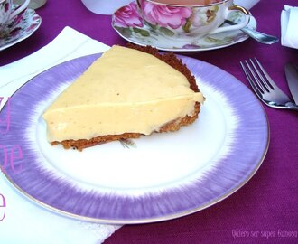 Key lime pie (Pastel de lima de Florida)