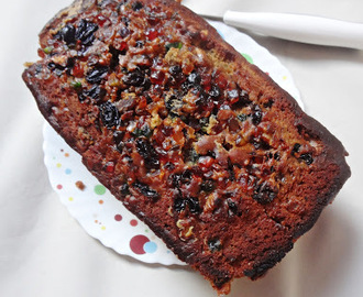Christmas Plum Cake / Fruit Cake