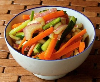 Malasian Pickled Vegetables #SundaySupper